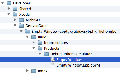 Chapter 6  Anatomy of an Xcode Project
